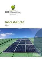 LIFE Klimastiftung Liechtenstein: Auch im 2016 wieder wichtige Weichen gestellt