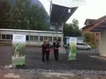 Weltpremiere in Balzers: Solarzellen, die bei Regen verschwinden