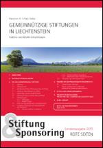 Stiftung & Sponsoring - Sonderausgabe 2015