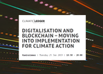 LIFE Event, June 25th, 2019 in Bonn Germany: Digitalisation and Blockchain – Moving into Implementation for Climate Action